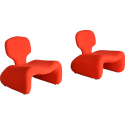 Pair of Djinn chairs, Olivier MOURGUE - 1960s