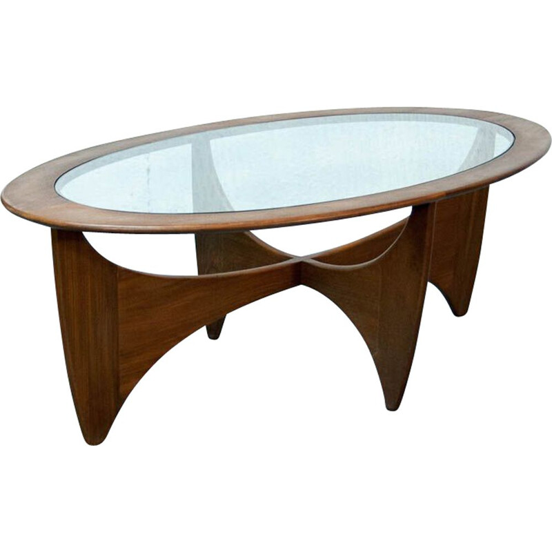 "Vintage coffee table ""Astro"" by Victor Wilkins"