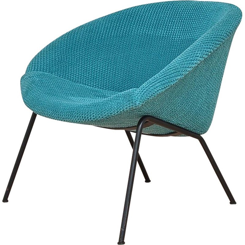 Turquoise Shell armchair by Walter Knoll