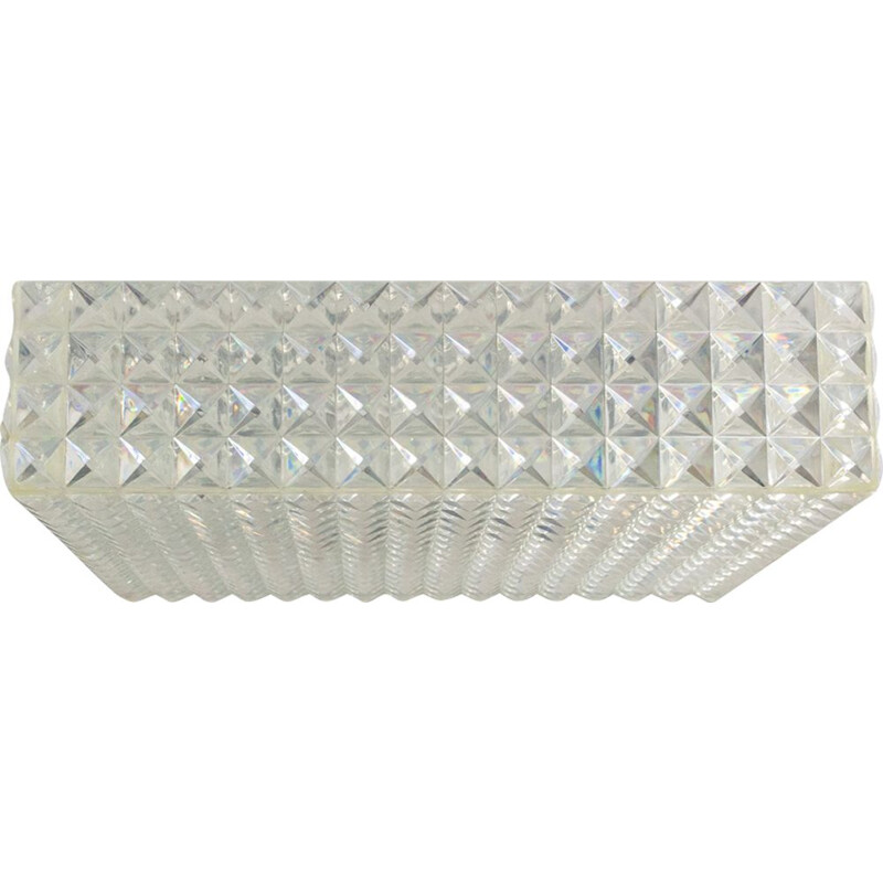Diamond ceiling light by Aloys Gangkofner for Erco
