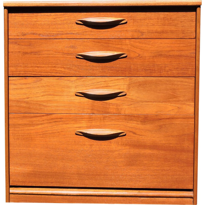 Vintage chest of drawers in teak by Austinsuite