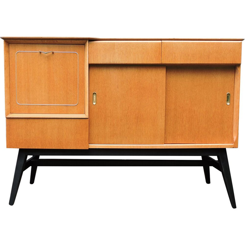 Vintage sideboard in light oak by Beautility