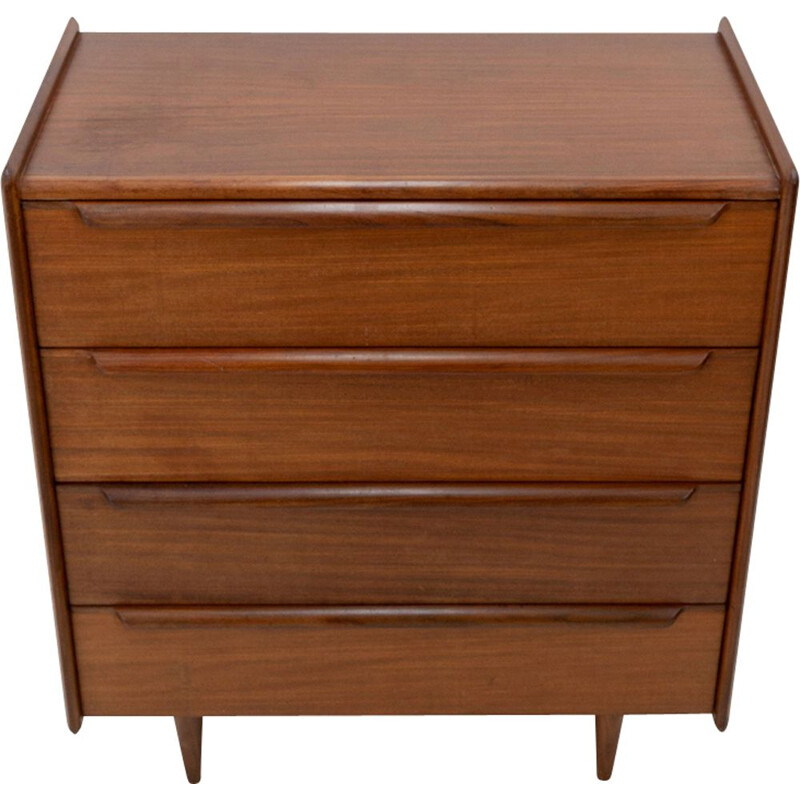 Vintage chest of drawers in teak