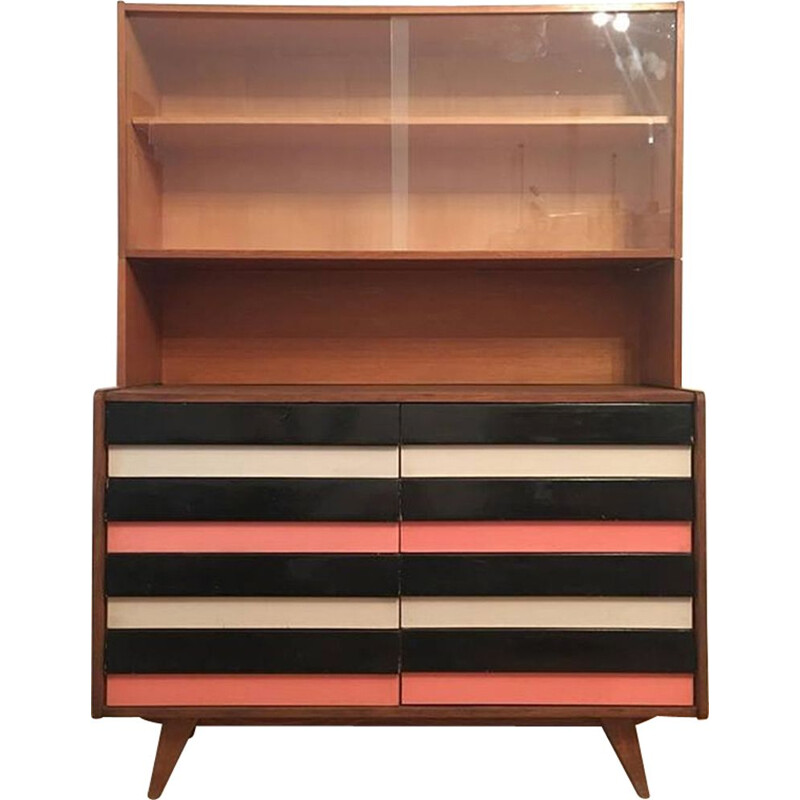 Vintage chest of drawers with bookcase by Jiri Jiroutek for Interier Praha