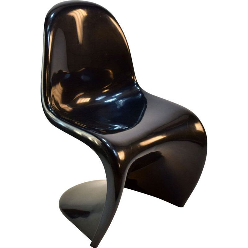Black Panton Chair for Herman Miller