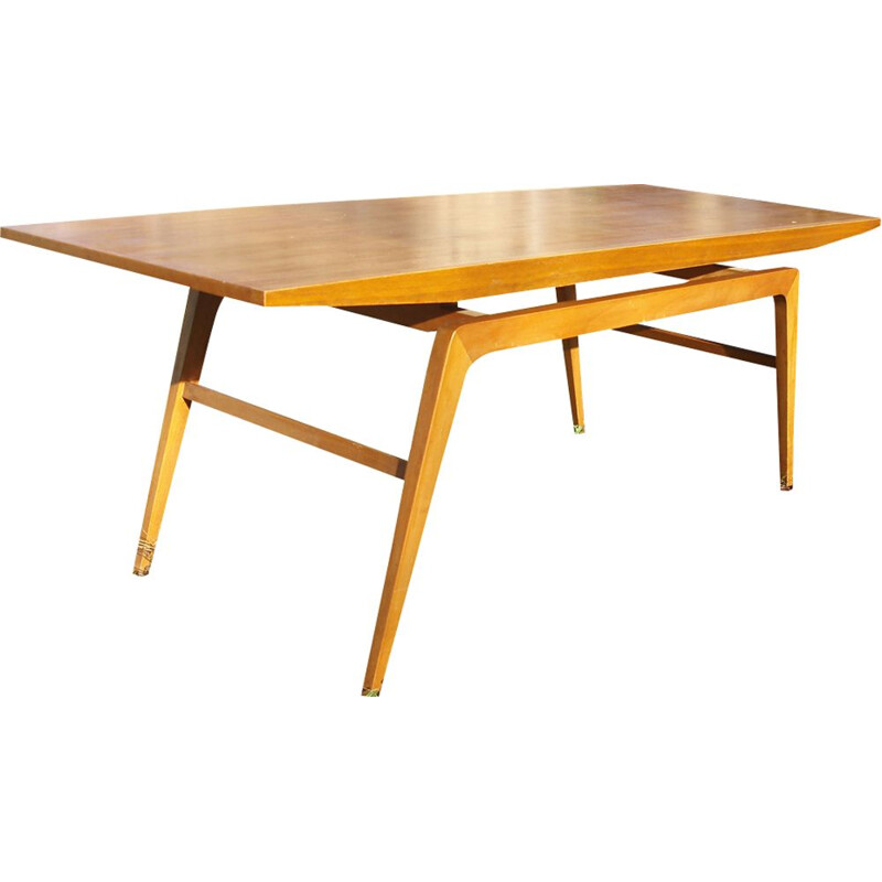 Vintage Scandinavian large coffee table