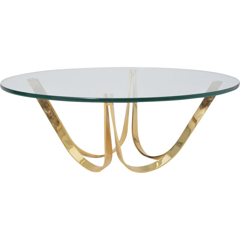 Vintage glass and metal table by Roger Sprunger for Dunbar 1970