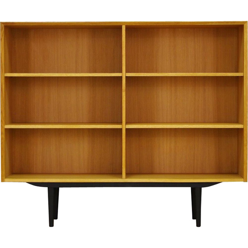 Vintage scandinavian bookcase for Brouer in ashwood 1970