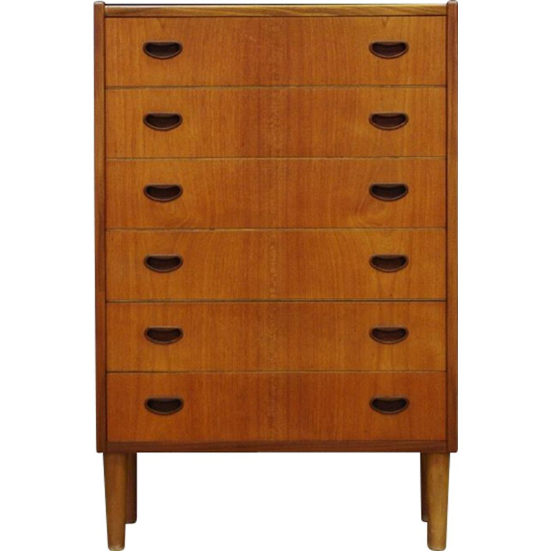 Vintage danish design chest of drawers in teak 1960