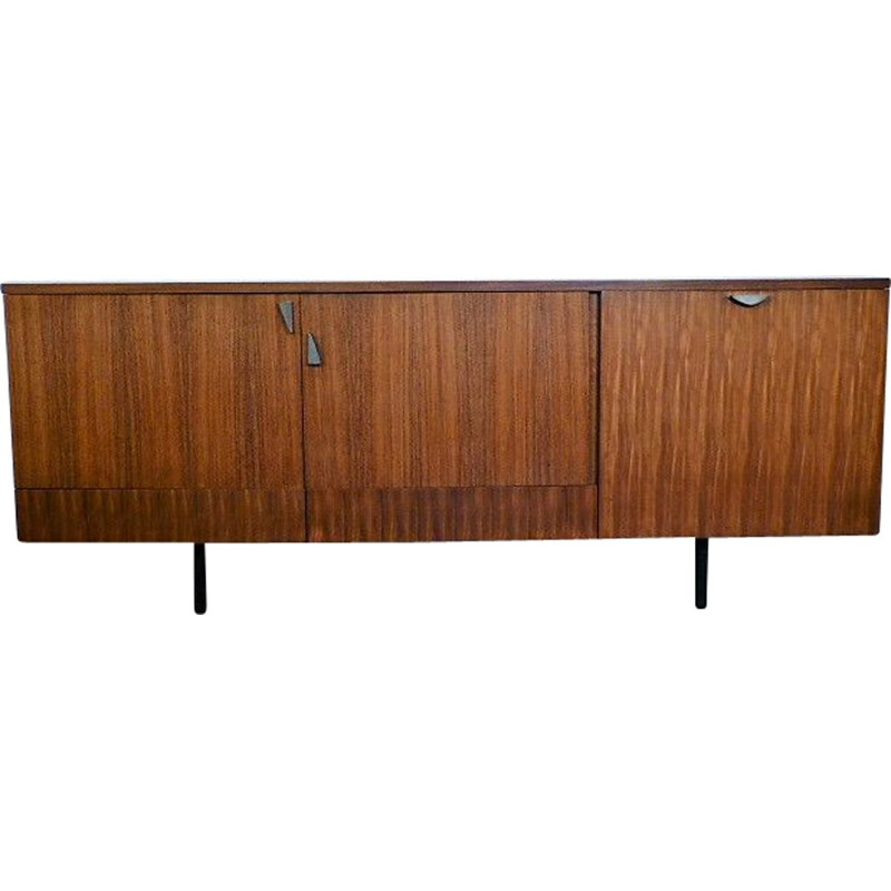 Vintage long sideboard in rosewood