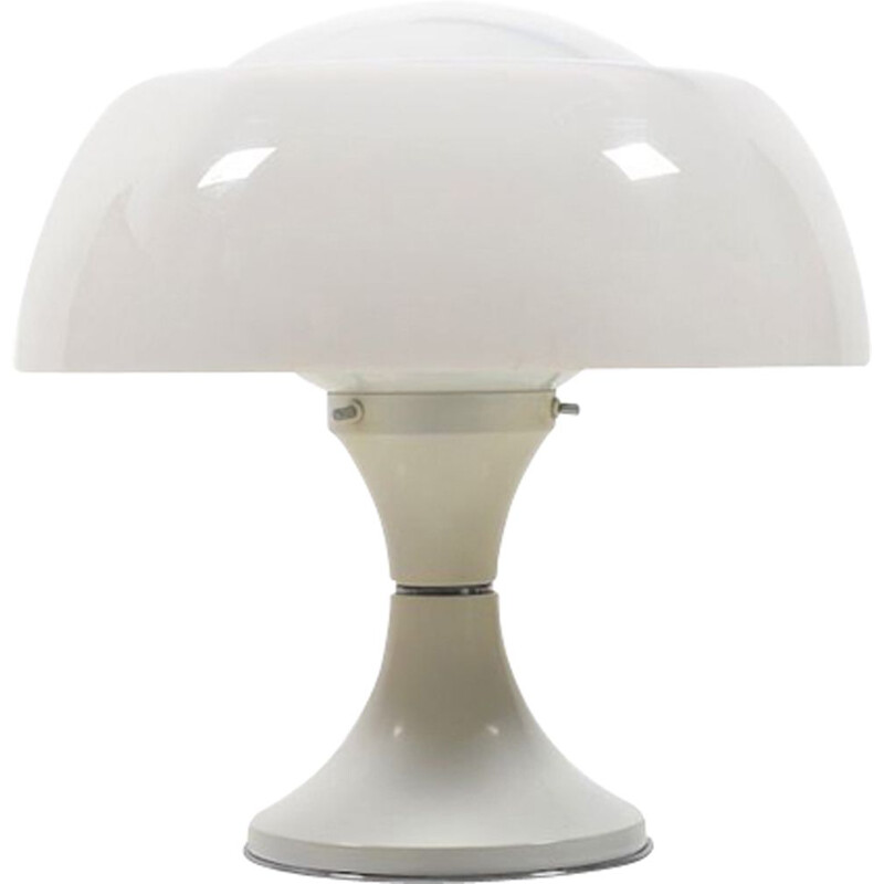 White table lamp by Gaetano Sciolari for Ecolight