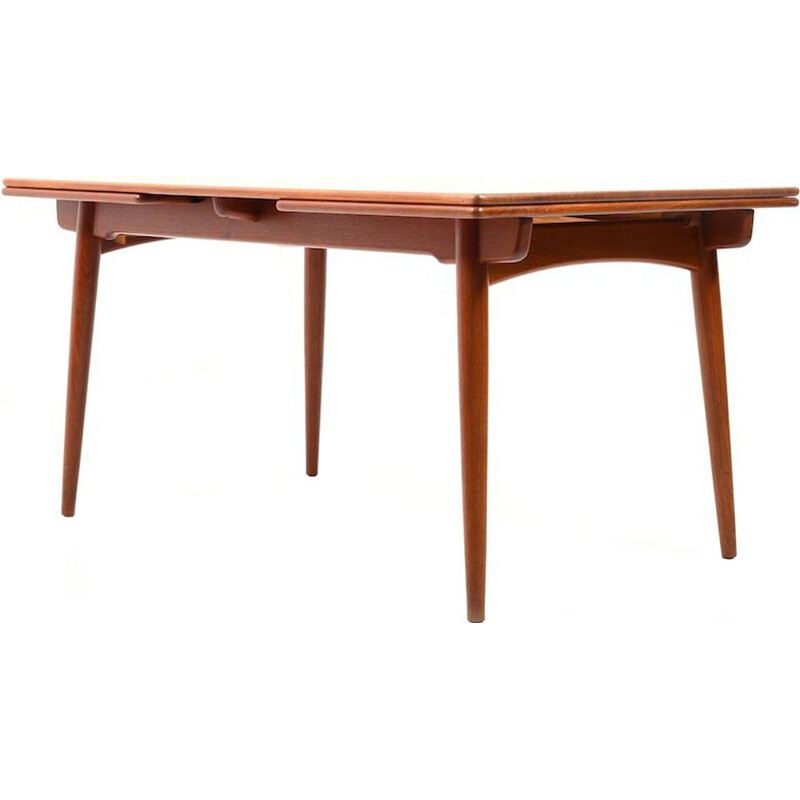 AT-312 table in teak by Hans J. Wegner