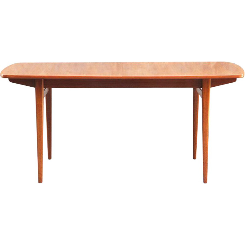 Vintage extendable table in teak
