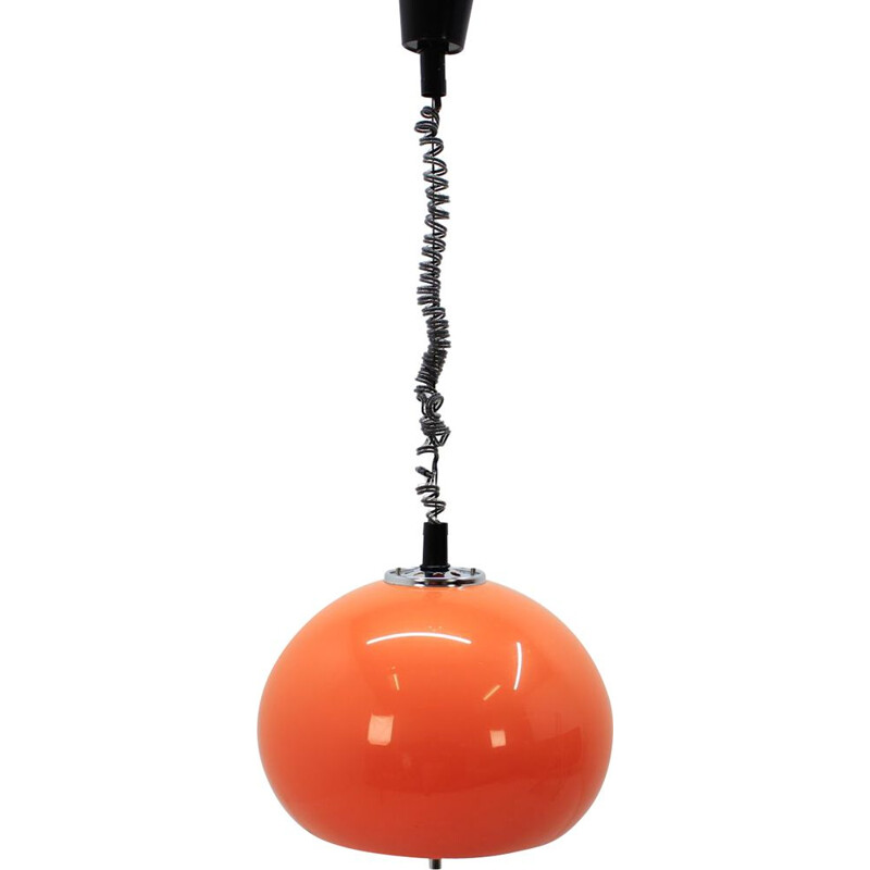 Vintage pendant lamp by Harvey Guzzini for Meblo