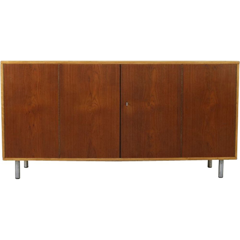 Vintage sideboard in birchwood by Cees Braakman