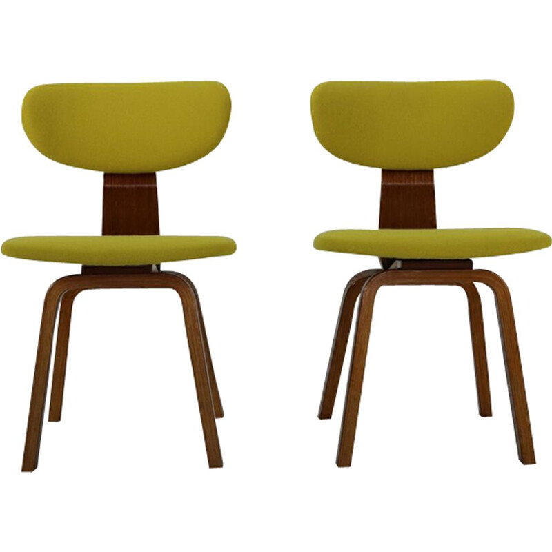 Set of 2 vintage chairs by Cees Braakman for Pastoe