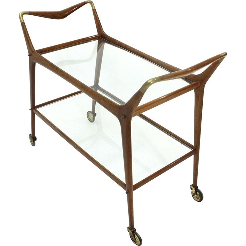 Vintage Italian cart by Ico Parisi for Angelo de Baggis