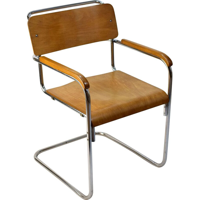 Vintage wooden chair by Thonet