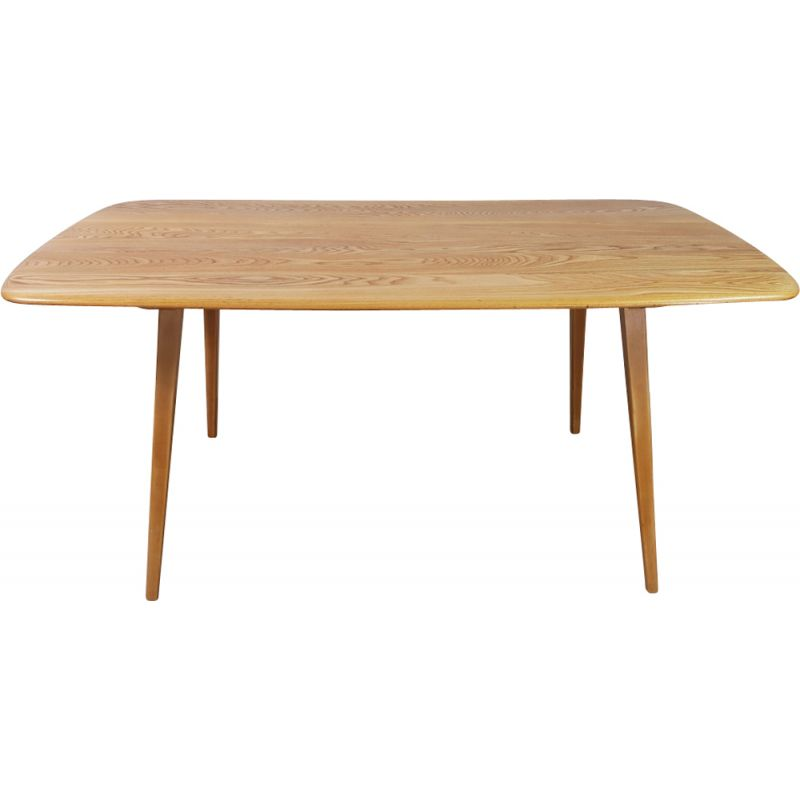 Vintage table in orm and elm by Lucian Ercolani for Ercol