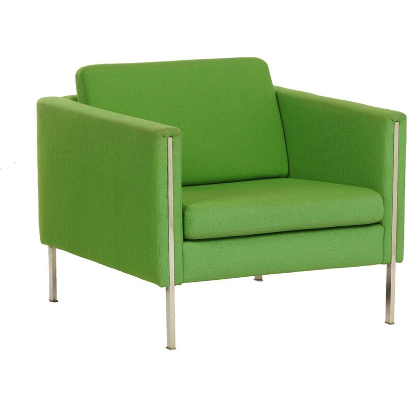 Green 442 armchair by Pierre Paulin for Artifort