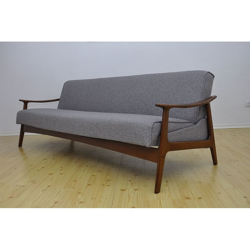 Mid Century Danish Sofa Bed 1960s