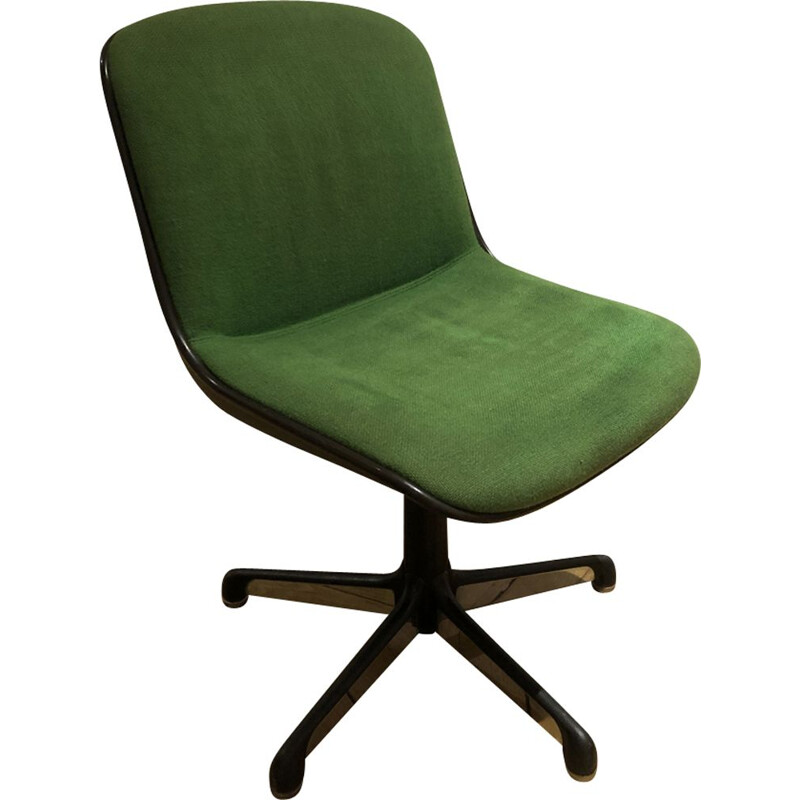 Vintage swivel chair by Pollock