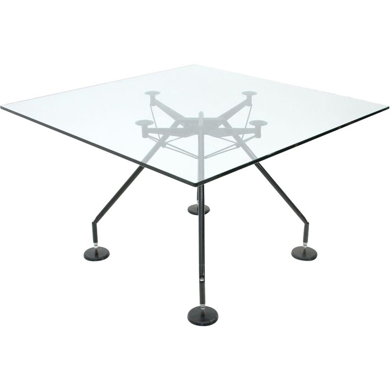 Vintage Nomos table by Norman Foster for Tecno