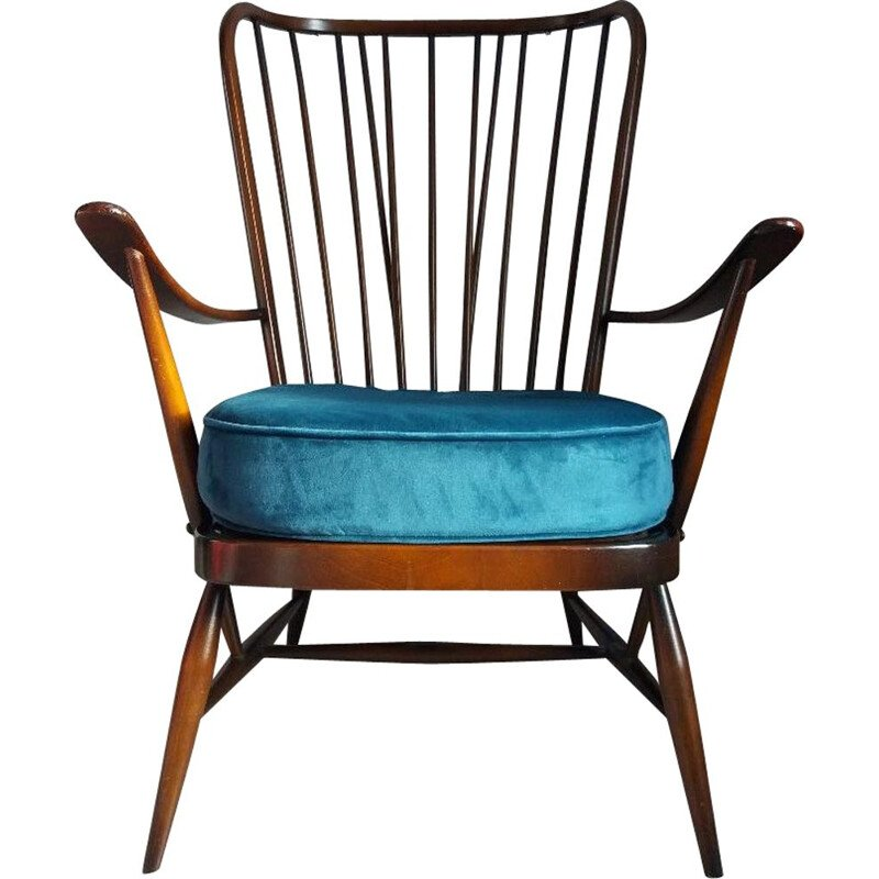 Vintage Ercol Windsor armchair