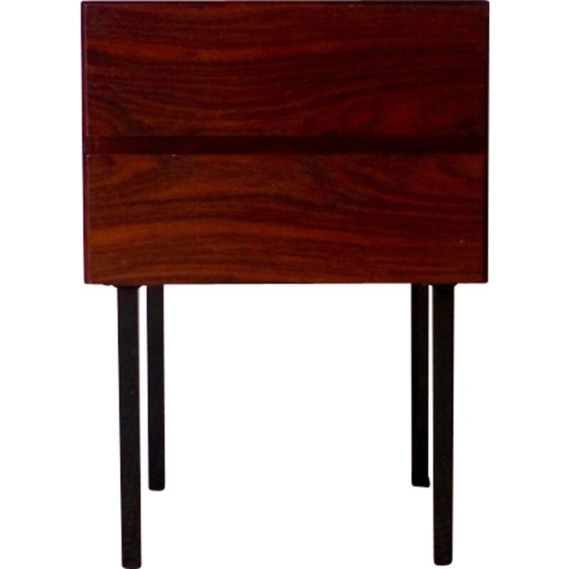 Scandinavian chest of drawers in Rio rosewood