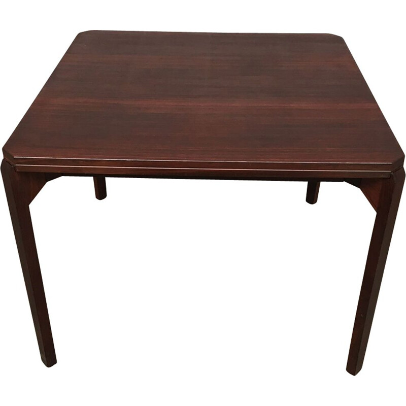 Italian side table in rosewood