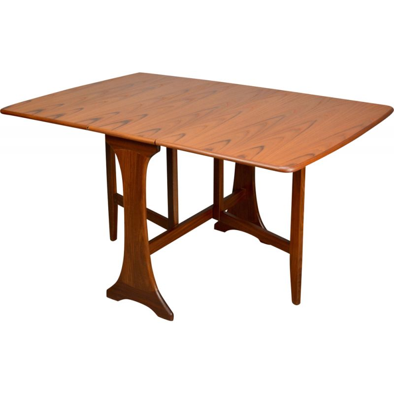 Vintage drop leaf dining table for G Plan in teak 1970