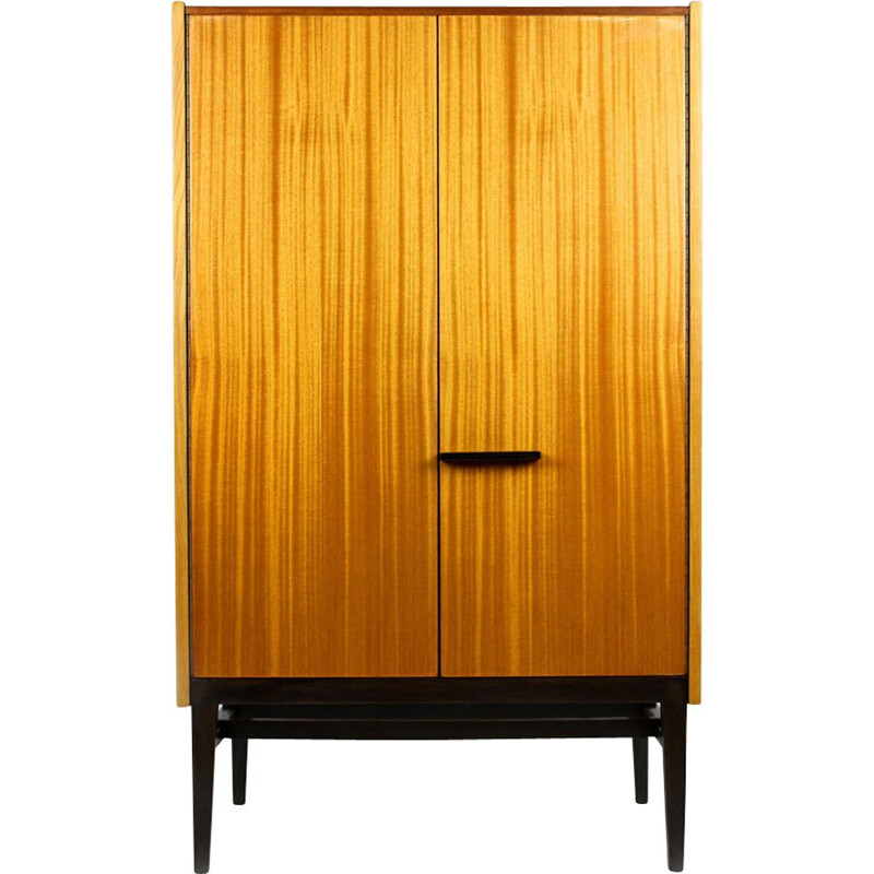 Vintage wardrobe for UP Bucovice in wood 1960