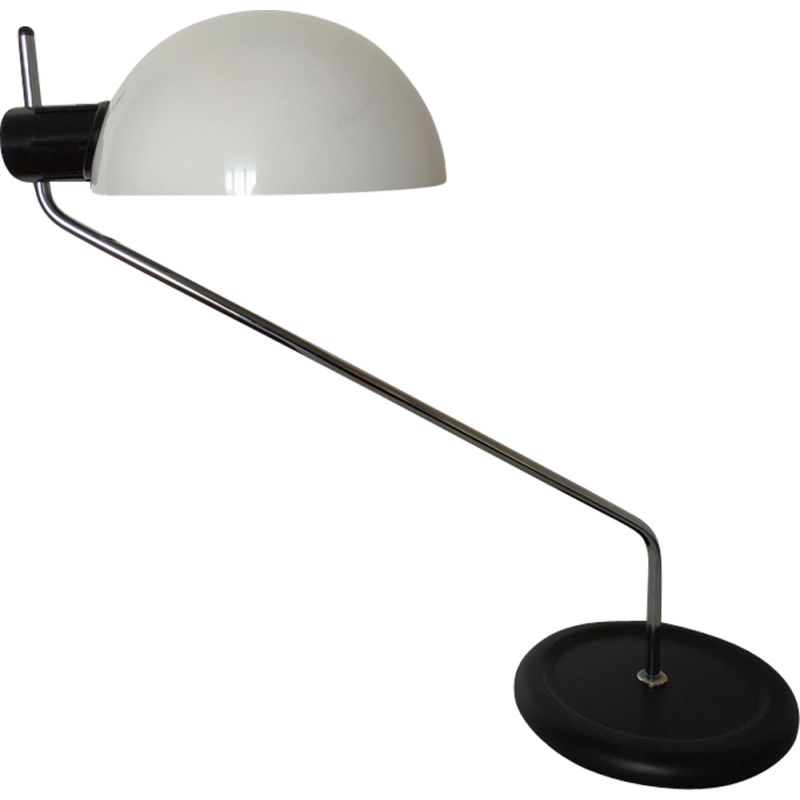 Vintage metal desk lamp by Harvey Guzzini