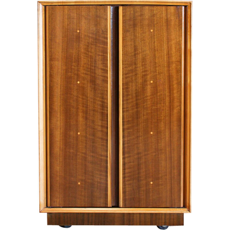 Vintage cabinet in walnut and beechwood