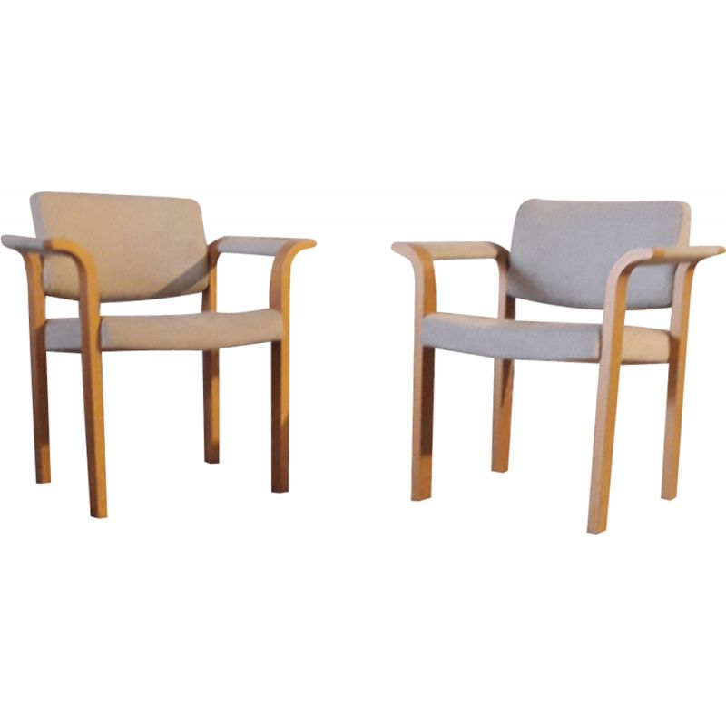 Set of 2 vintage armchairs Scandinavian