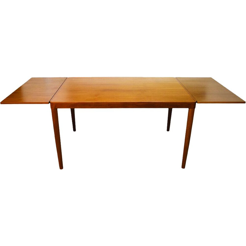 Vintage danish teak table for Vejle Stole Og Møbelfabrik