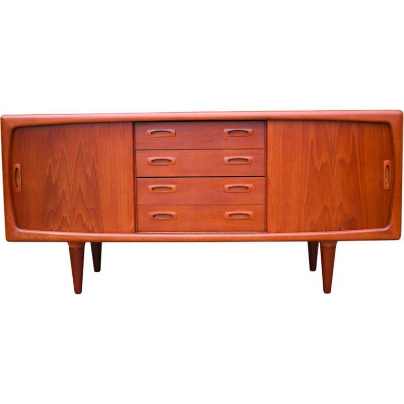 Vintage danish teak sideboard for H.P. Hansen 1950s