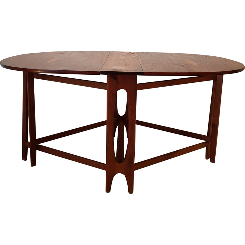 Vintage rosewood table for Kleppes 1960
