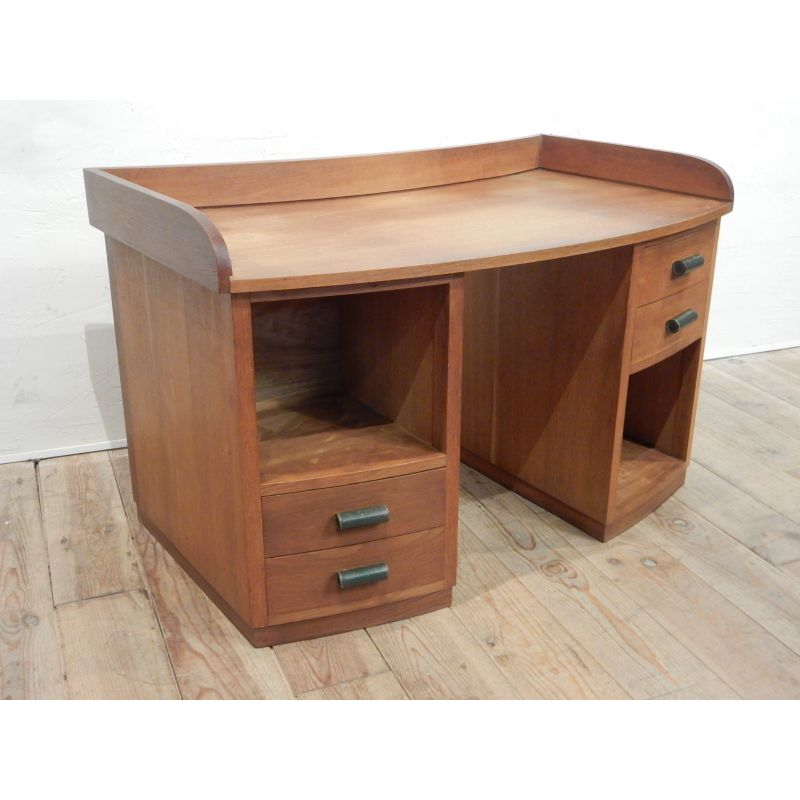 Vintage Oak Office Desk Design Market