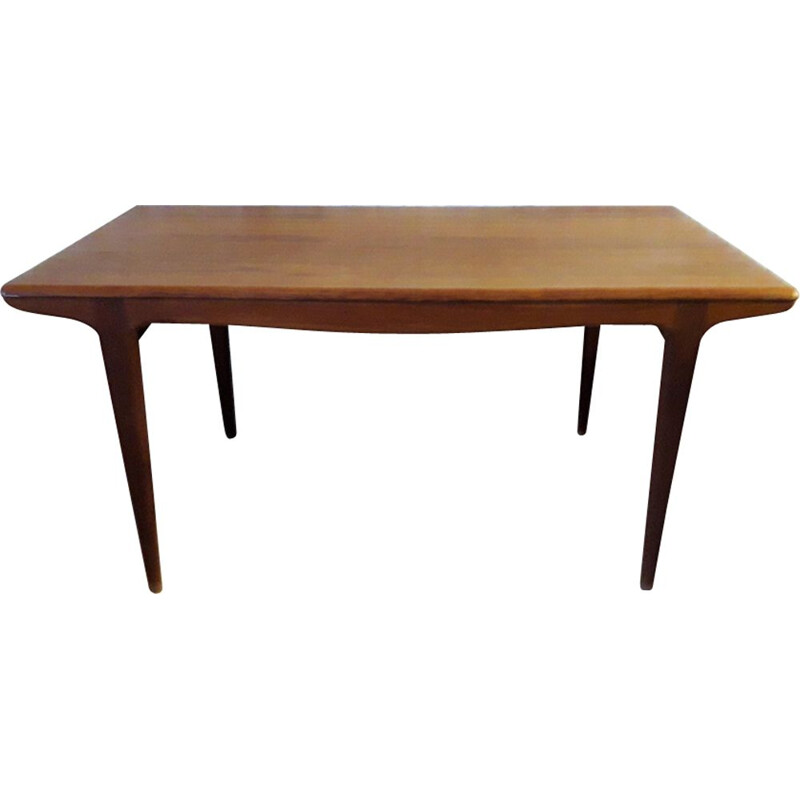 French vintage table for Meubles TV in teak 1960