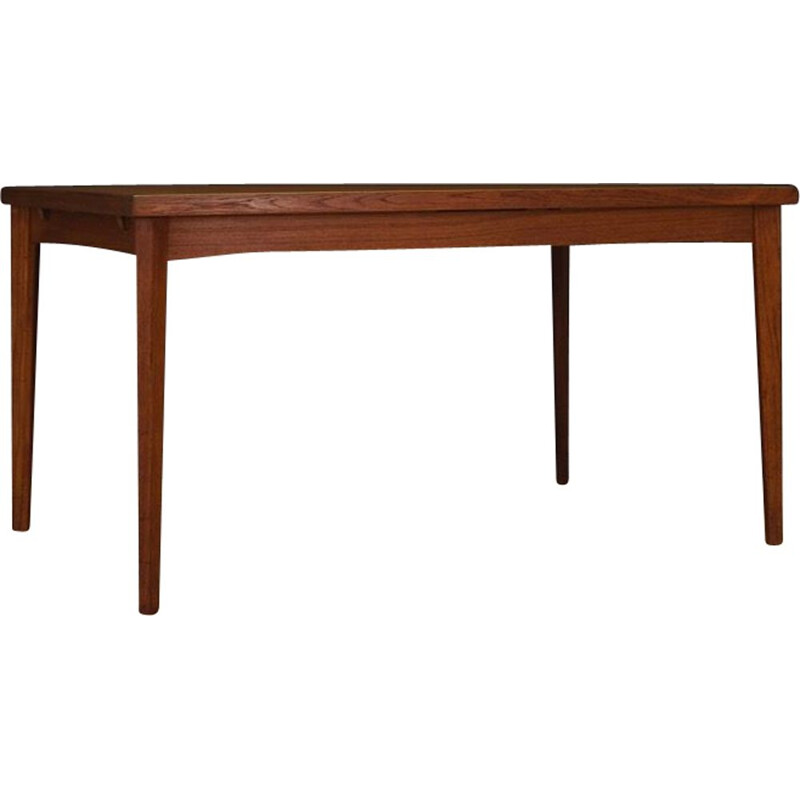 Vintage scandinavian teak table 1970