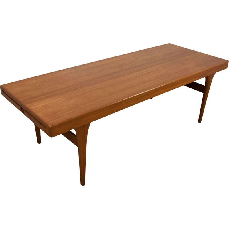 Scandinavian Teak Coffee Table by Johannes Andersen, 1960