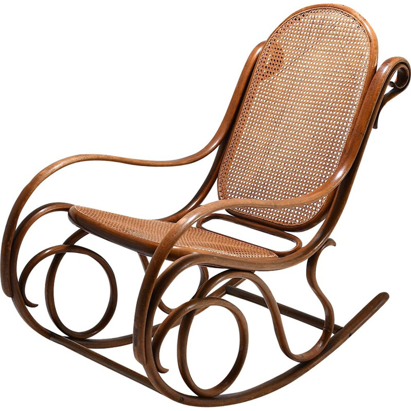 Rocking chair vintage n 6 by Thonet
