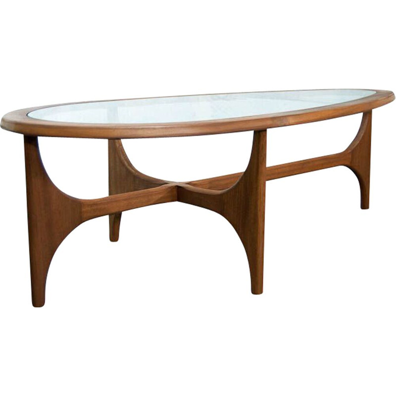 G plan Scandinavian style coffee table 130cm