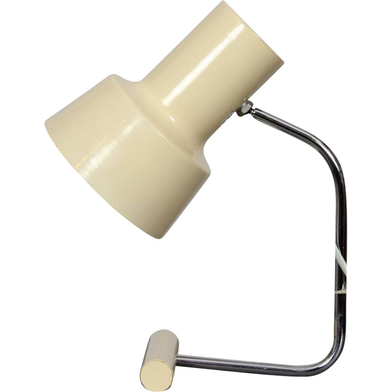 Vintage lamp for Napako in beige metal 1970