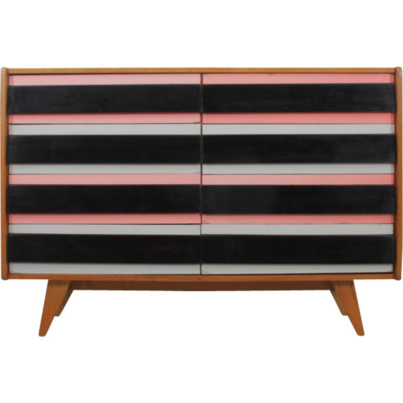 Vintage chest of drawers for Interier Praha in wood 1960