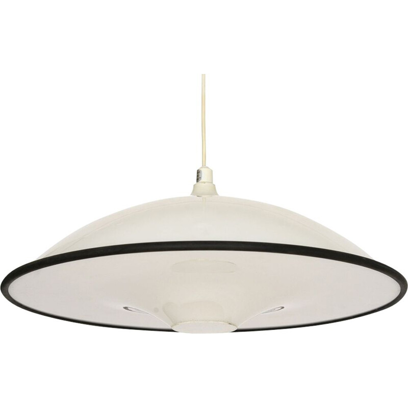 Scandinavian Pendant light in white plastic