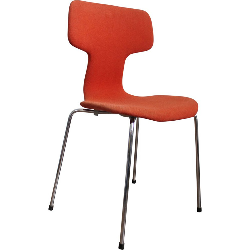 Vintage T-chair by Arne Jacobsen 3103 Hammer for Fritz Hansen
