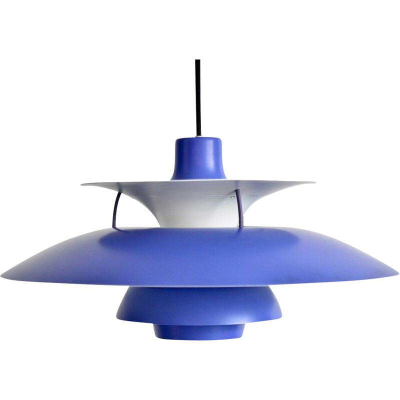 Vintage hanging lamp PH5 model by Poul Henningsen for Louis Poulsen