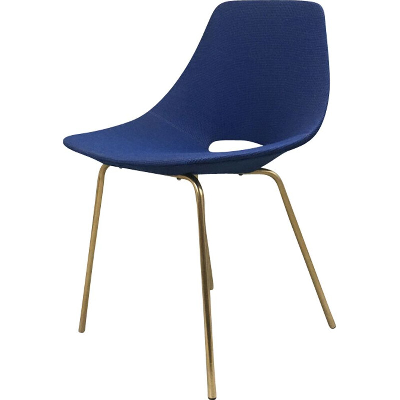 Vintage chair tonneau by Pierre Guariche